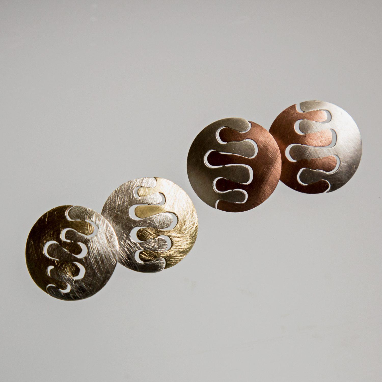 Kolczyki Paluszki okrągłe